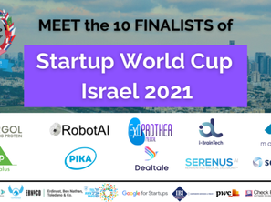 Meet the Top 10 finalists of the Startup World Cup Israel 2021