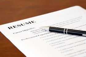Resume and Pen