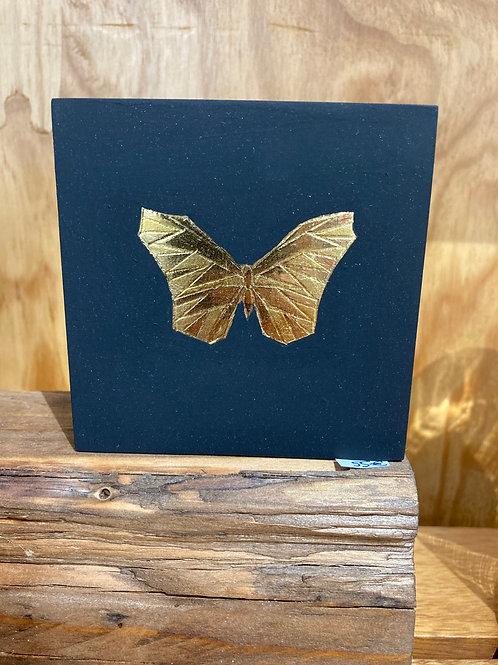 Cadre origami papillon