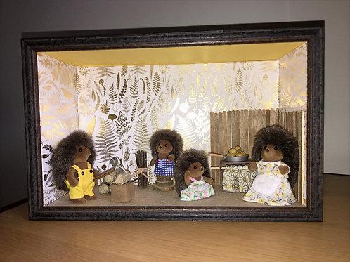 Sylvanian family Famille hérisson