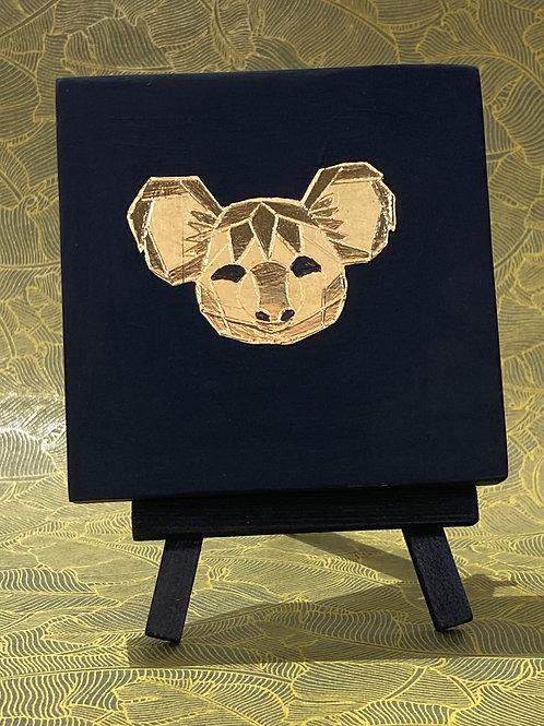 Cadre origami koala