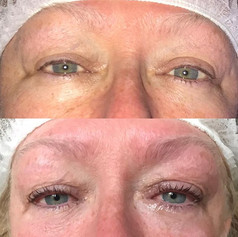 Little LVL lash lift for my mum this evening - my mum has always had very fair, short lashes and doesn't often wear makeup so LVL is perfect