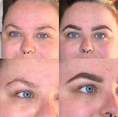 Set of brows done today 🙌🏼. Before and after!_._£10 off HDs 12th June - 7th July. Call or message to book✨_._._.jpg