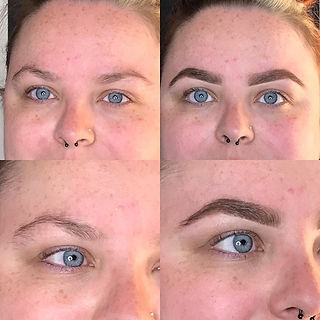Set of brows done today 🙌🏼. Before and after!_._£10 off HDs 12th June - 7th July. Call or message