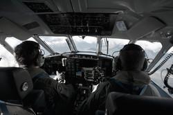 Inside Navy Plane