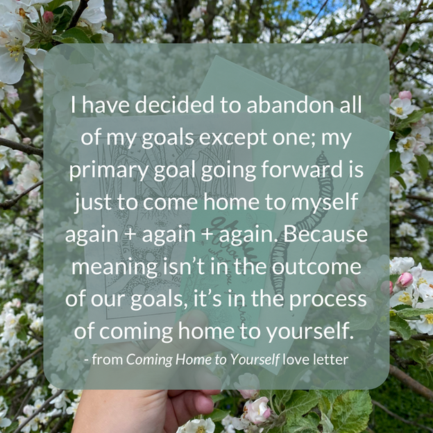 Coming Home to Yourself Excerpt