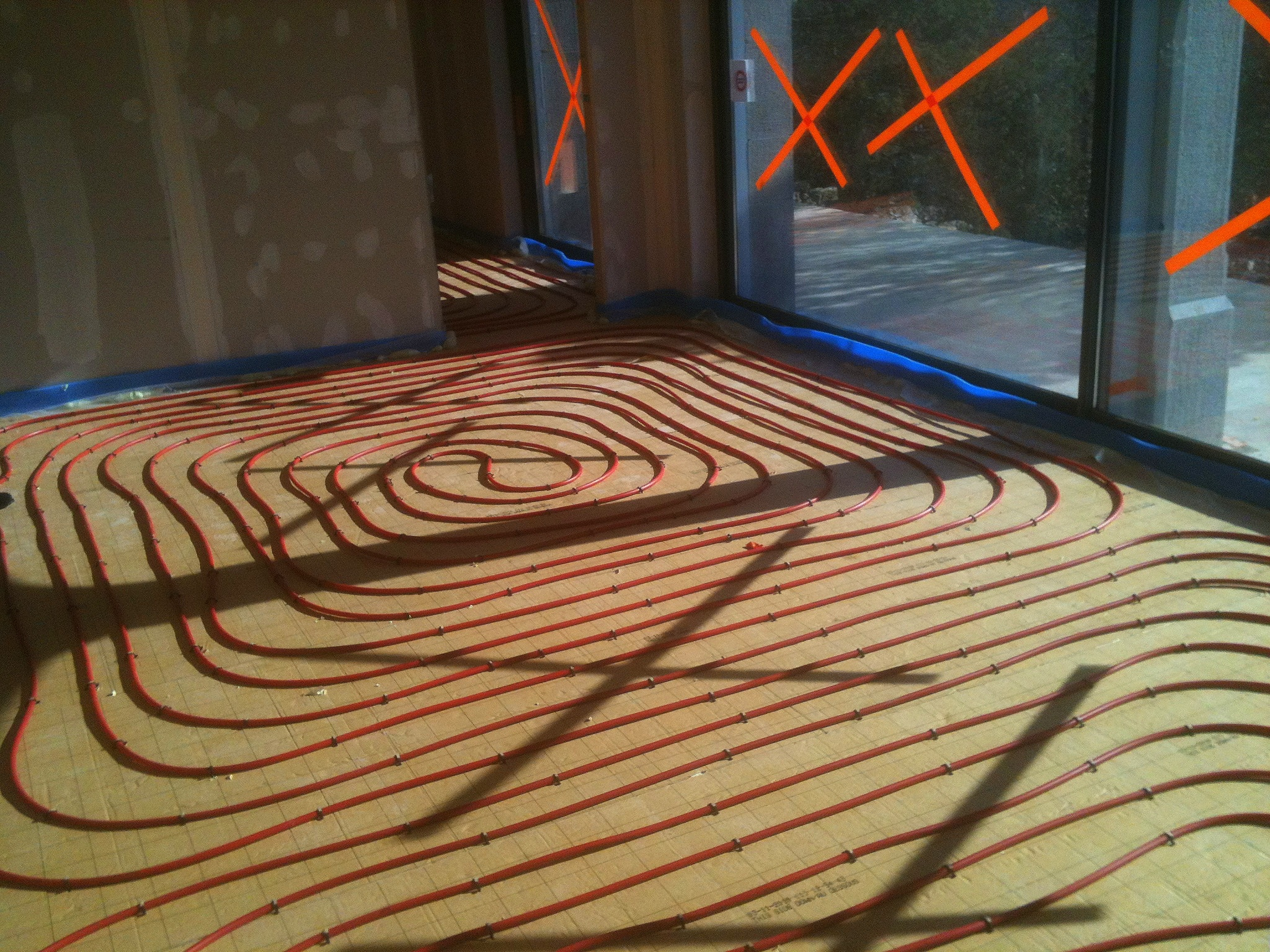 plancher chauffant