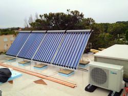 Panneaux solaires à tube sous vide