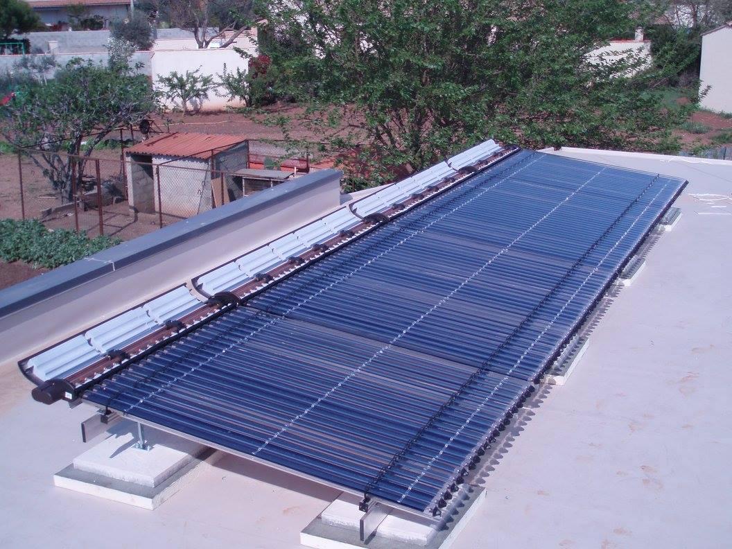 panneaux solaires à tubes sous vide