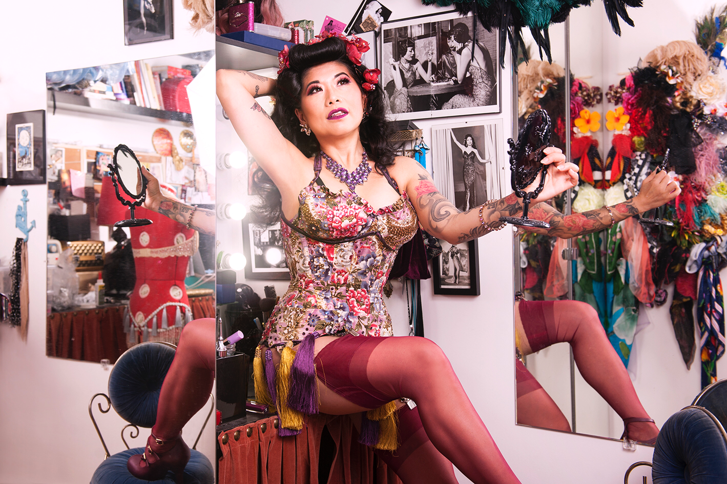 Burlesque at Home