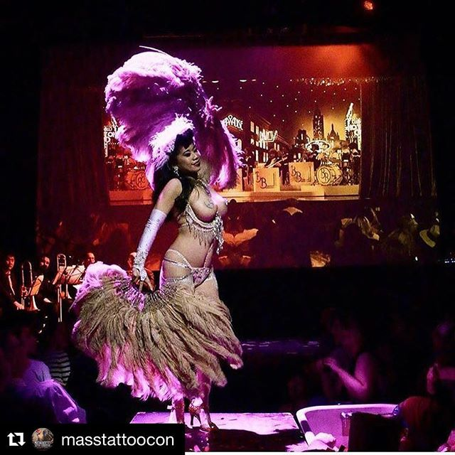 I'm stoked to perform at _masstattoocon this Labor Day weekend with the _chifferobetropigals! Tkts a