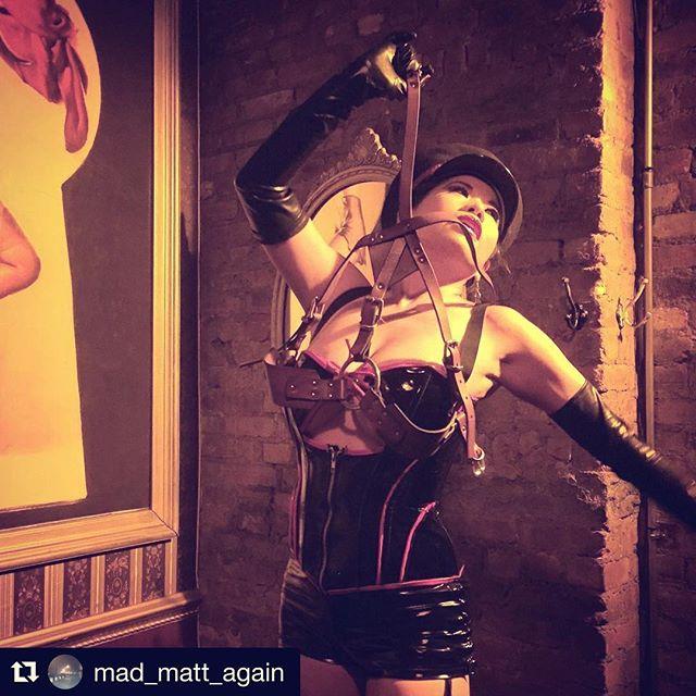Another night _nursebettienyc _#Repost _mad_matt_again_・・・_Hell-bent For Leather!!!!!!! _CalamityCha
