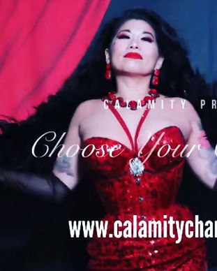Calamity Chang Choose Your Own Tease