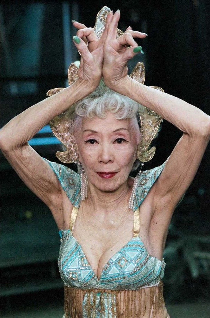 Photo by Sven Goerlich of Jadin Wong famous dancer, actress, burlesquer