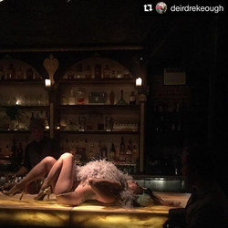Love this shot by _deirdrekeough tonight _apothekenyc gettin in the groove with _broadwaybrassy and