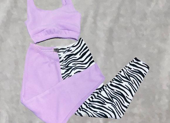 Cami top & joggers - fleece SET