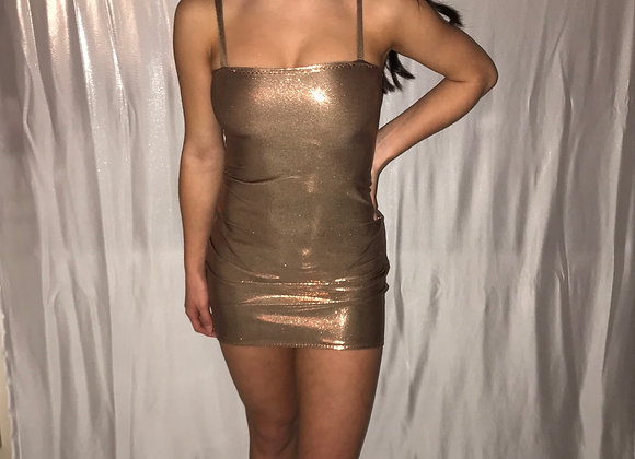 The Strapped boobtube dress