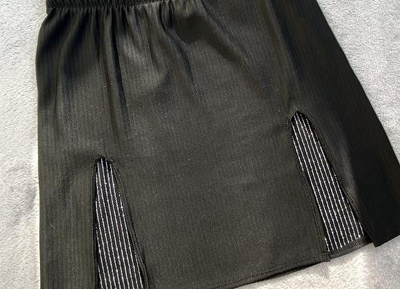 The front panelled split skirt