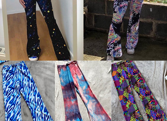 CUSTOMISE- Highwaisted flares
