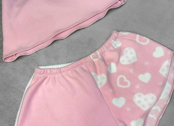 The floaty cami top & mini shorts set