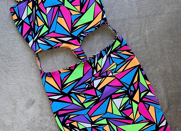 The O-ring cut out dress
