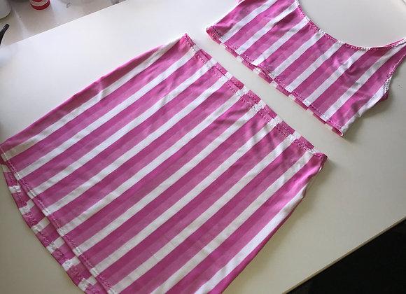 The Scoop neck cami & skirt set