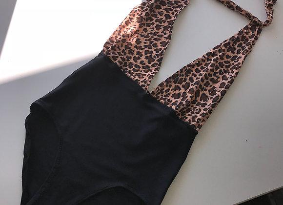 The Plunge halterneck swimsuit/bodysuit