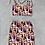 Thumbnail: The tie strapped short boobtube & skirt set