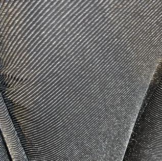 Silver glitter pinstripe