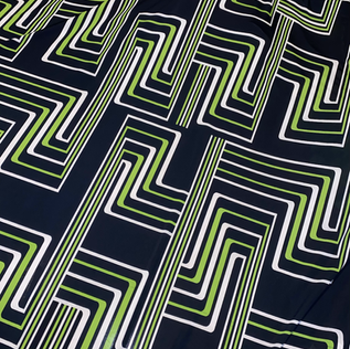 GREEN SQUARE SQUIGGLE