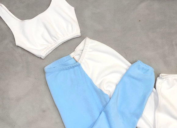 The scooped neck cami top & joggers set