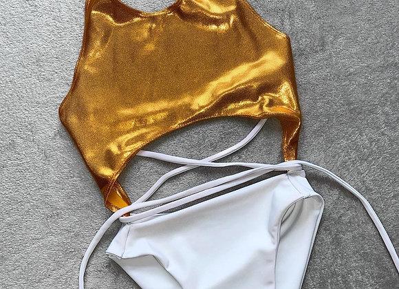 The Halterneck cutout swimsuit