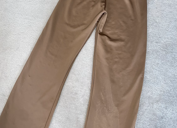 The highwaisted straight leg trousers