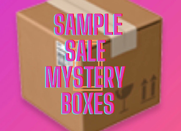 Sample sale mystery box