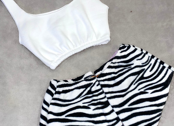 The scooped cami top & mini shorts set