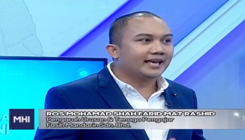 Fasih Mandarin di MHI TV3