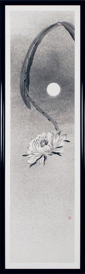 月下美人図