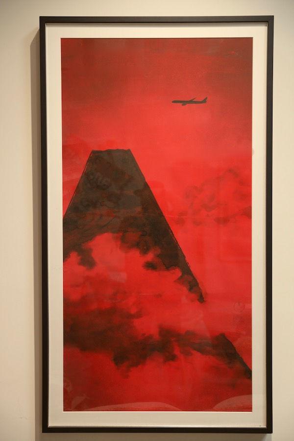 Red Mount Fuji