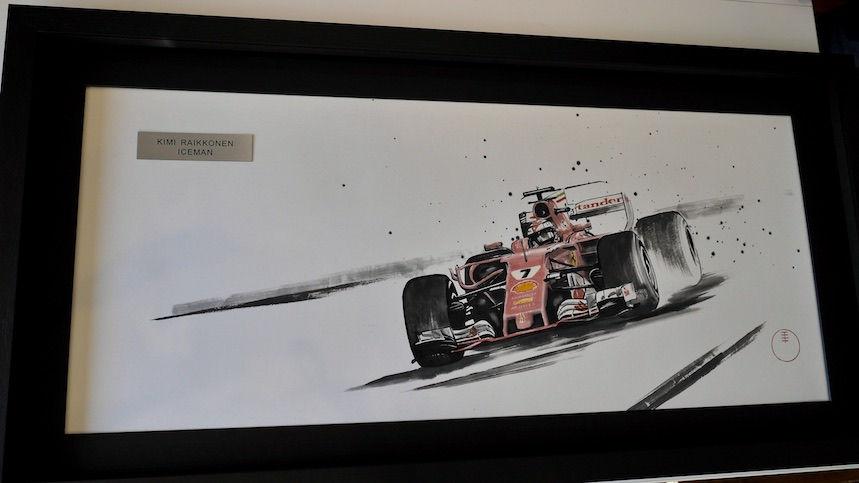 Ferrari Official Artwork for KIMI RAIKKONEN