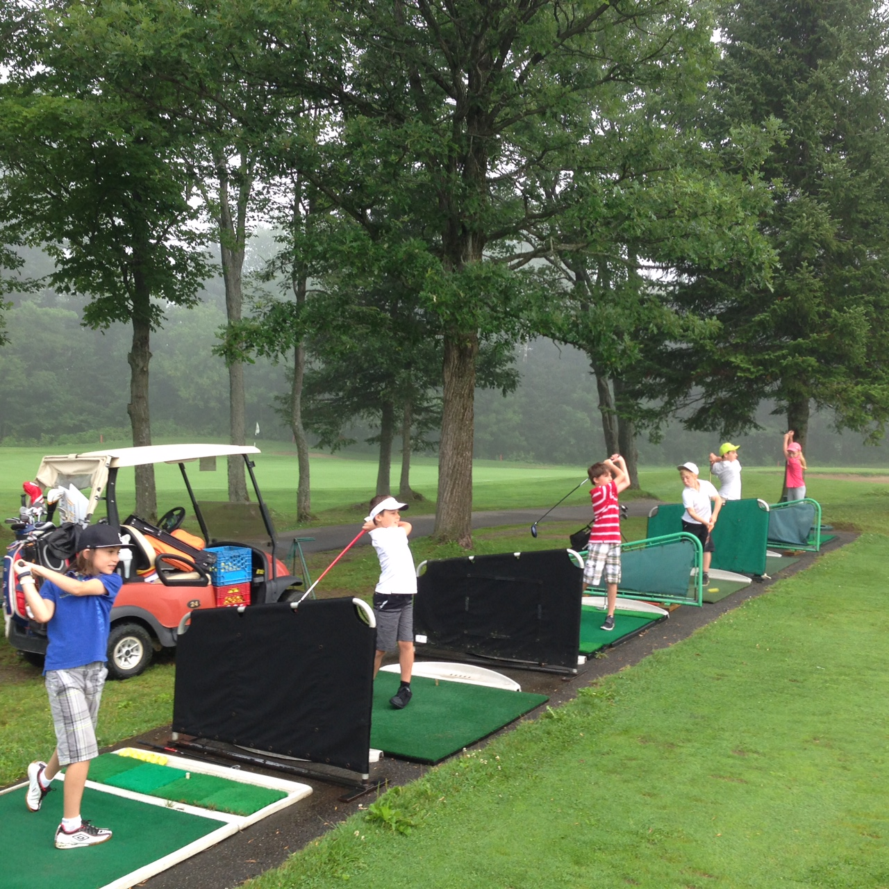 Camp de golf pour juniors