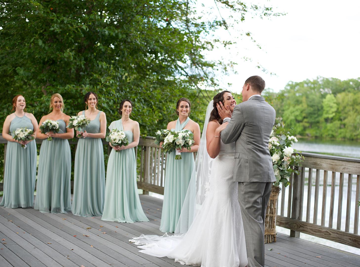 lake of isles wedding