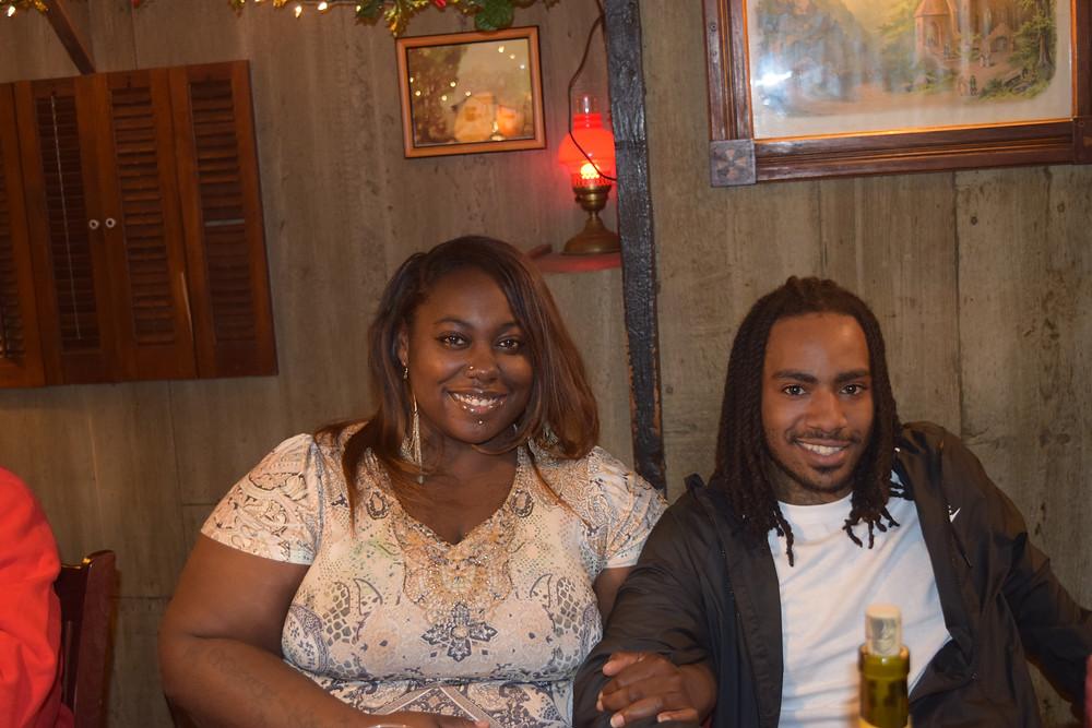 Unnika Sommerville and her nephew