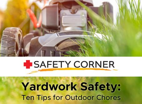 CCOR SAFETY CORNER: Yardwork Safety