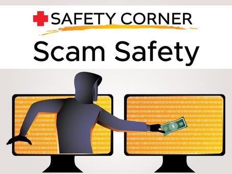 Safety Corner: Scam Safety