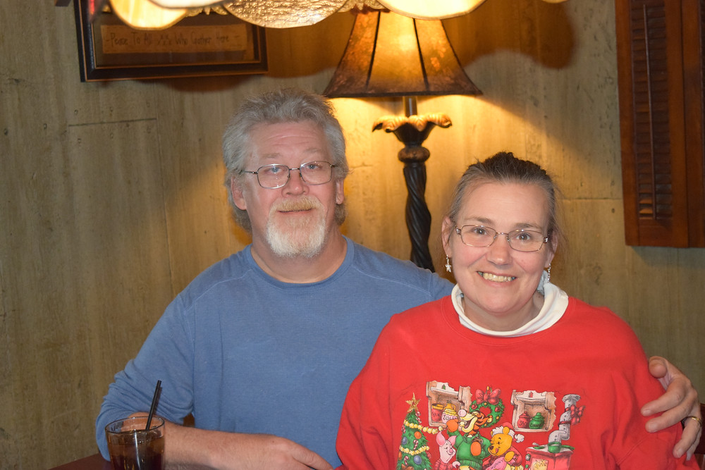 Michael Henry and his wife, Linda