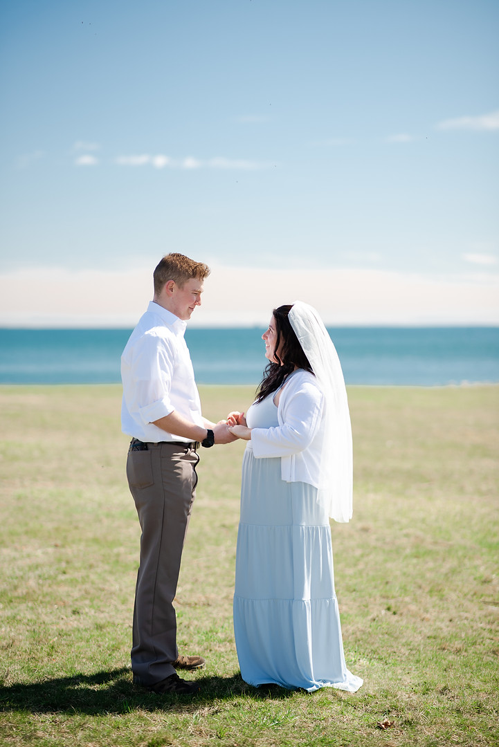 harkness park wedding elopement molly mia photography