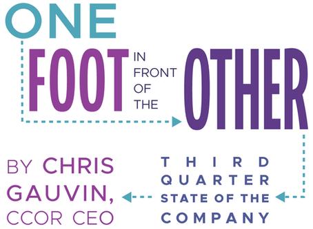 Third Quarter State of the Company