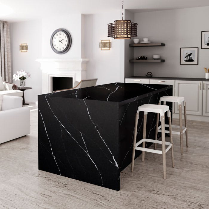 Silestone-Kitchen---Eternal-Marquina