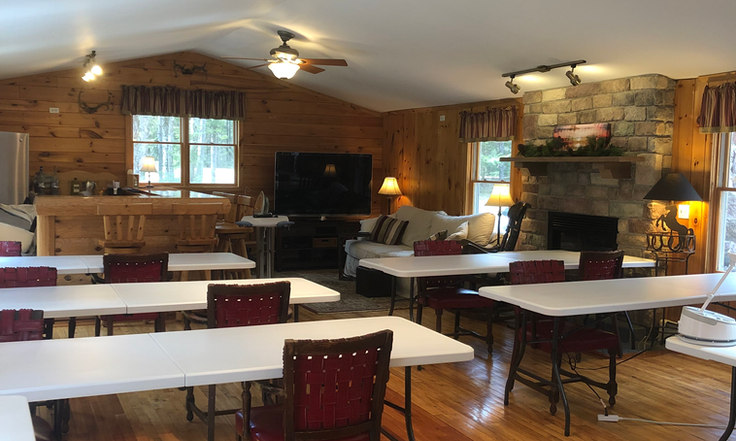 quilt workshop tables