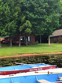 cabin 4 lake front view